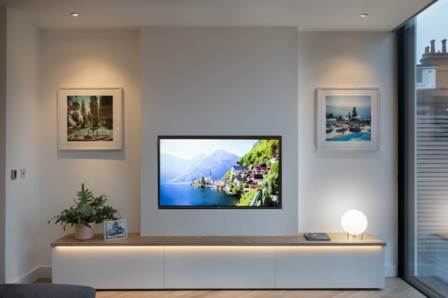 Kingston Project, Open Plan Media Room